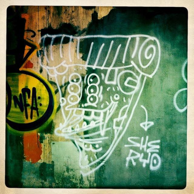 Hong Kong Graffiti   jessica beaton