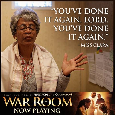 Movie Review The War Room  J M Butler