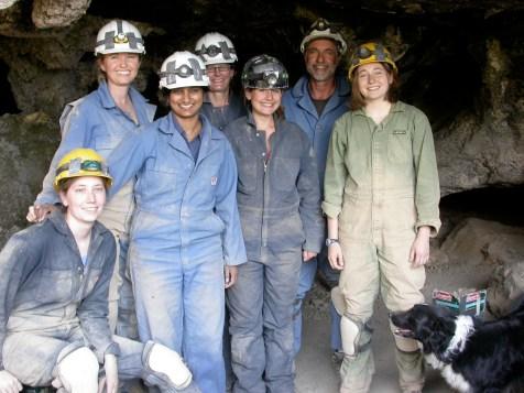 Samwell Cave Field team- 2008.
