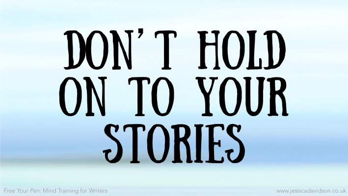 Buddhist Writing Prompt: Don't Hold on to Your Stories