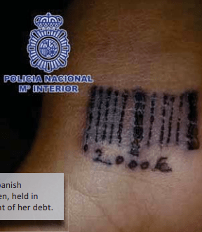 Tattoos and Trafficking, 2012 TIP Report