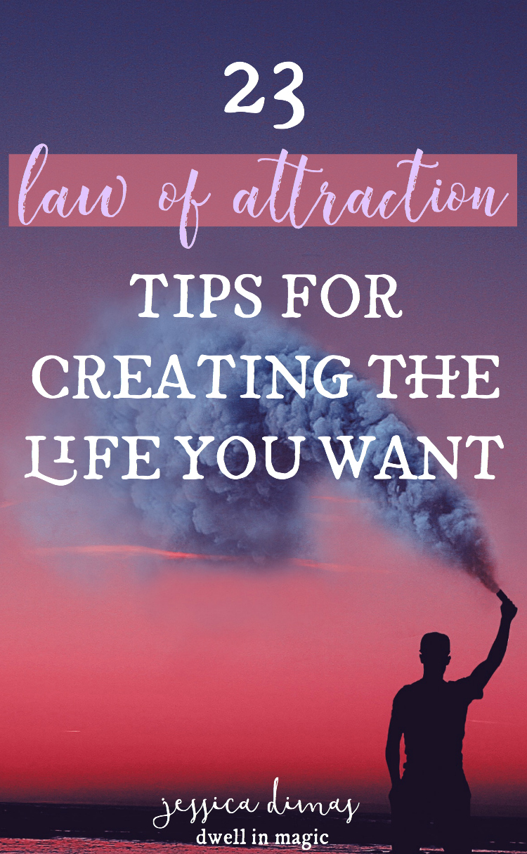 23 Law of attraction tips