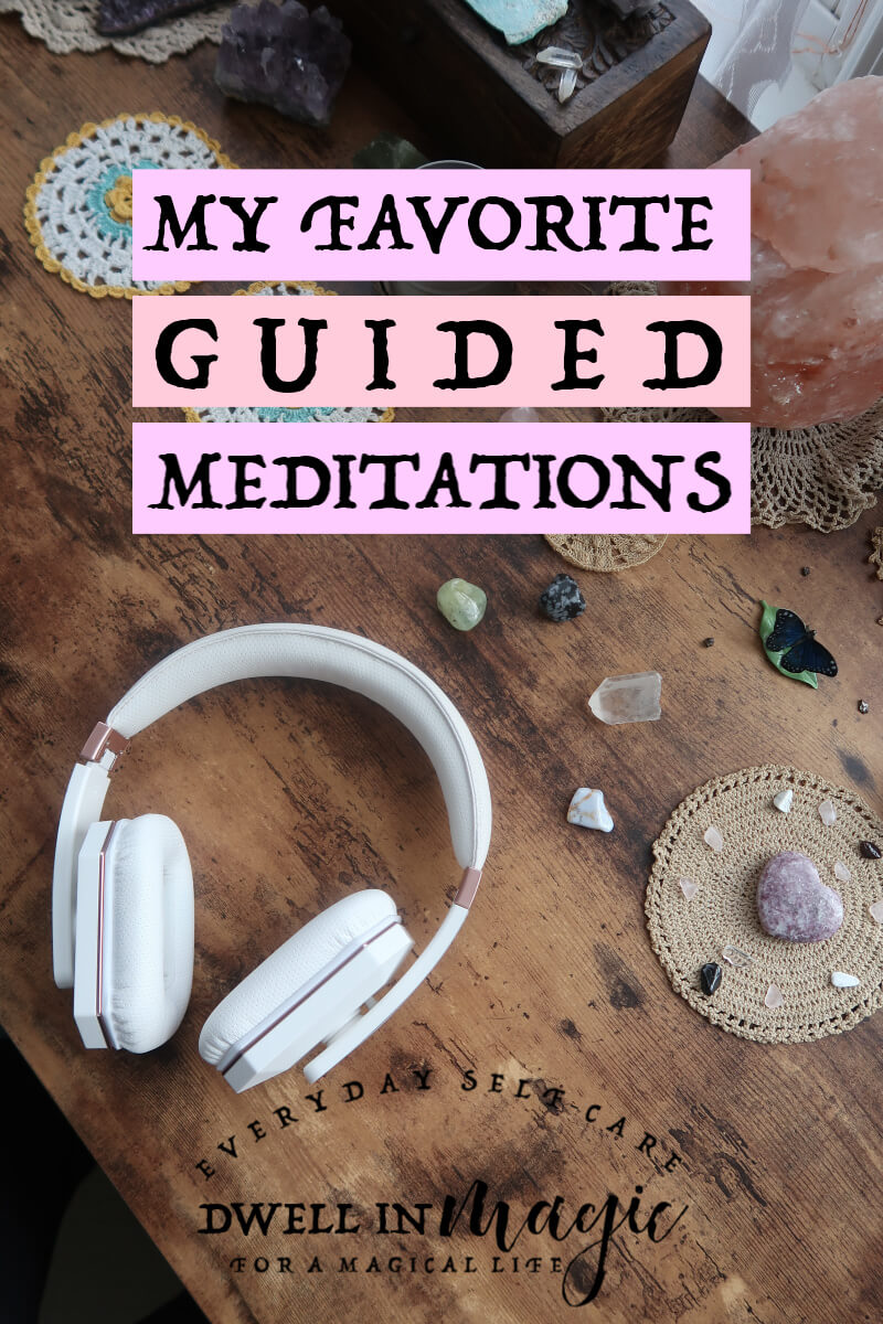 A list of my favorite guided meditations for 2019