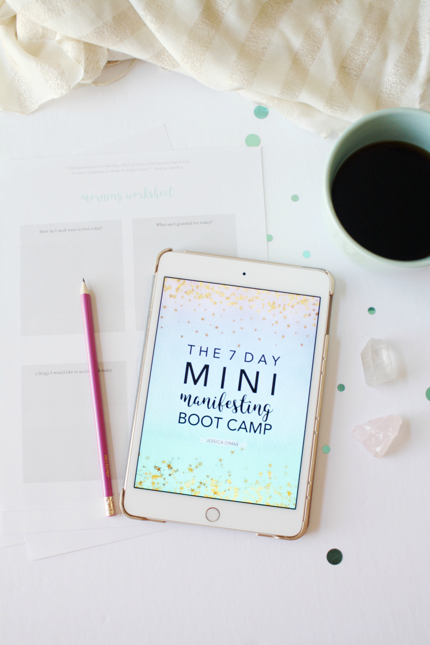 The 7 day mini manifesting boot camp