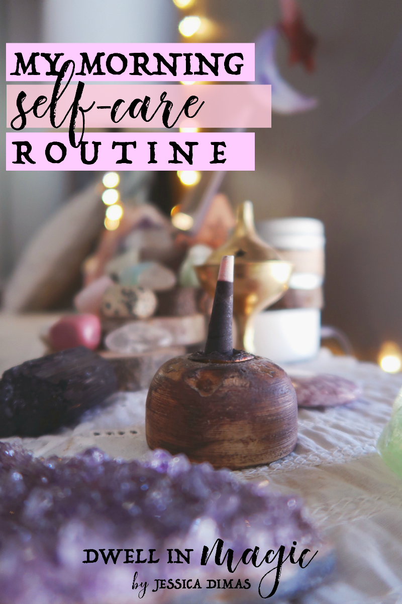 My morning self-care routine that I do with two children underfoot and limited time. Quick but powerful! #selfcareroutine #morningroutine #morningselfcare #morningdevelopment #selfcareideas #selfcaretips