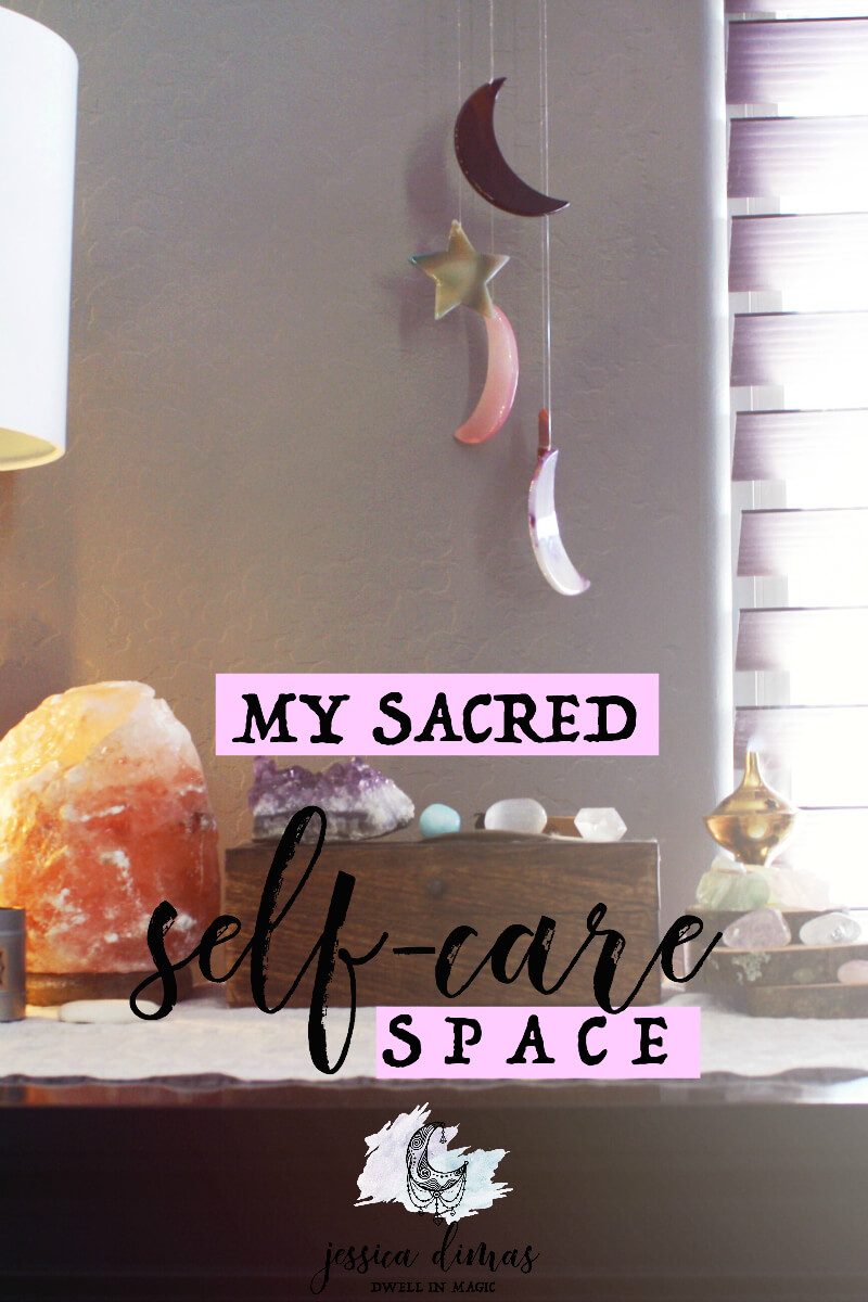 How to set up a sacred self-care space