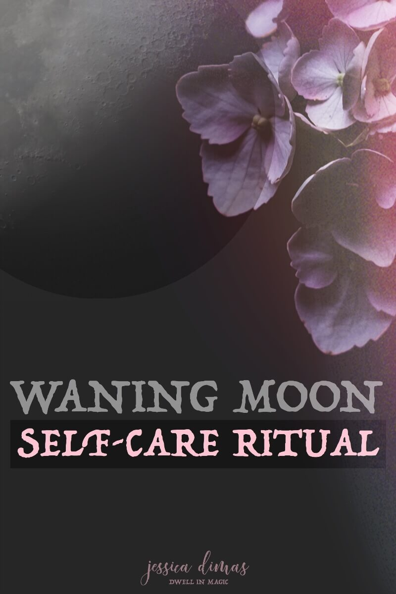 My self-care ritual for the waning moon cycle #waningmoonritual #waningmoonmagic #waningmoon #selfcareritual