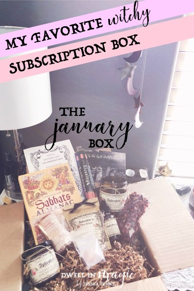 Anita Apothecary Subscription Box Review – January 2018