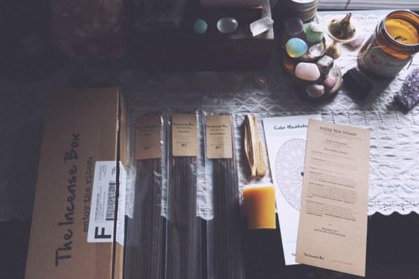 The incense self-care subscription box