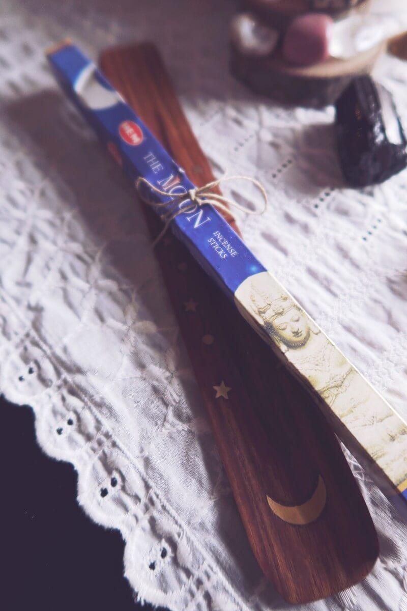 Incense holder hem moon incense