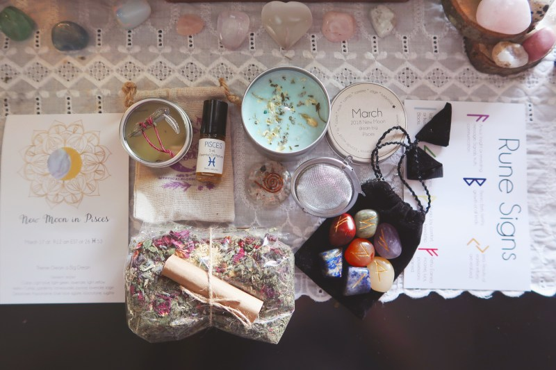 Witchy spiritual subscription boxes