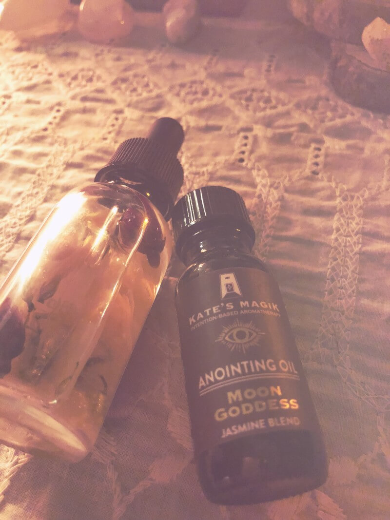 Oils ritual tools