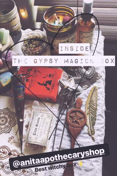 Anita Apothecary Subscription Box – Gypsy Magick