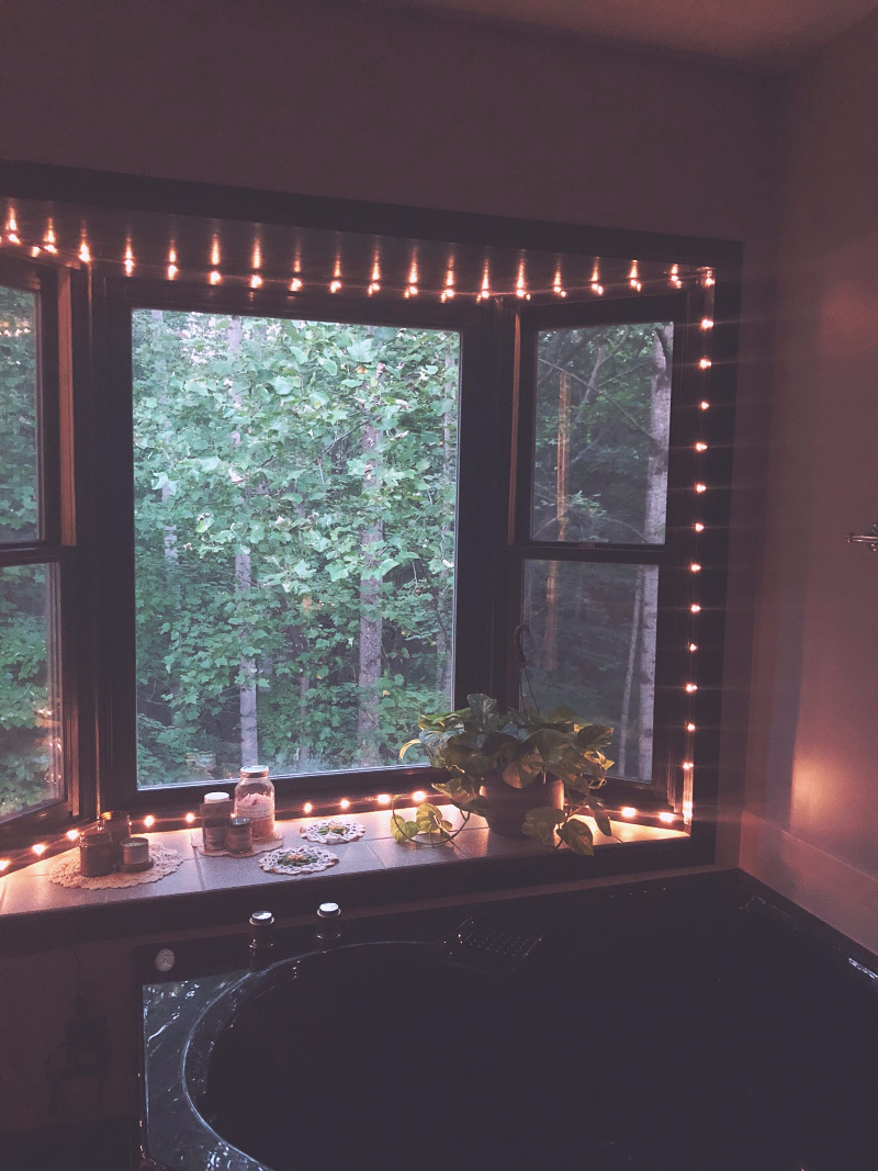 Bathroom self-care ideas