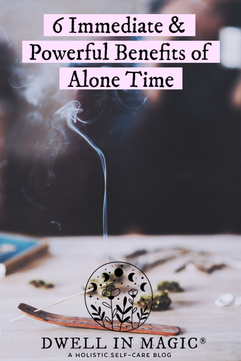 benefits of alone time