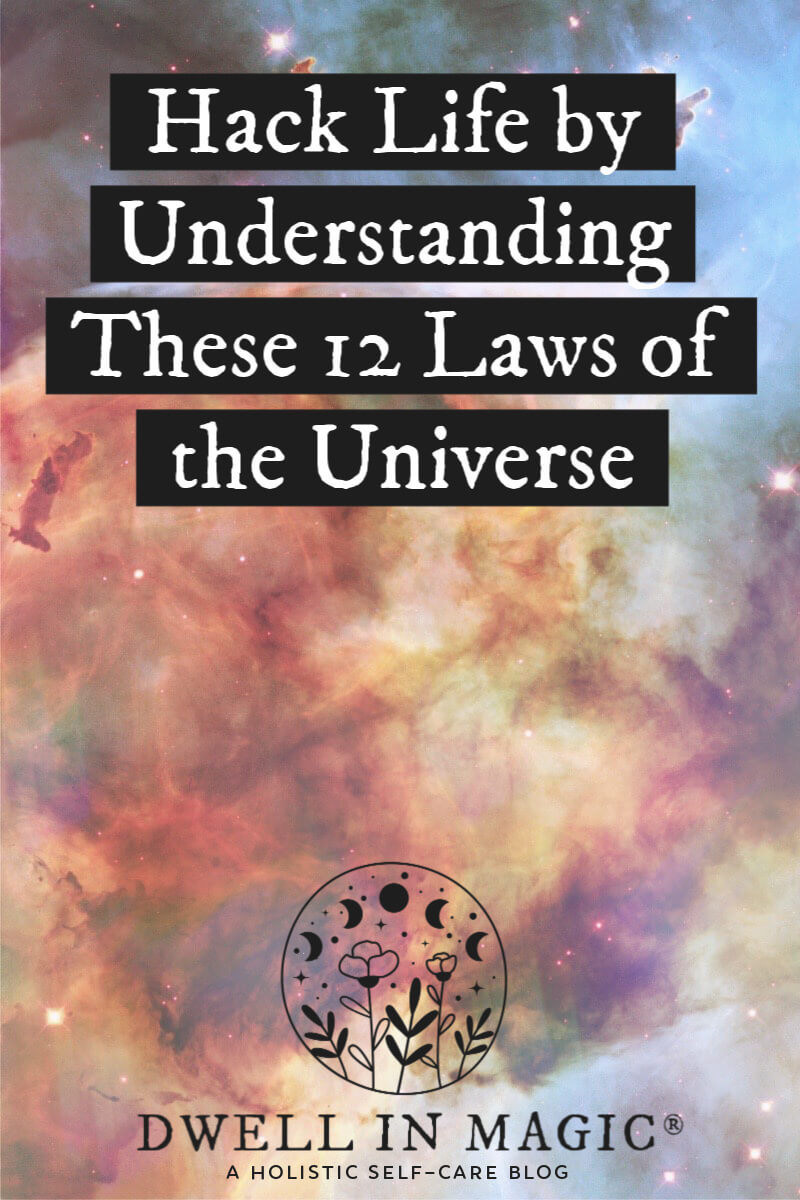 12 immutable laws of the universe