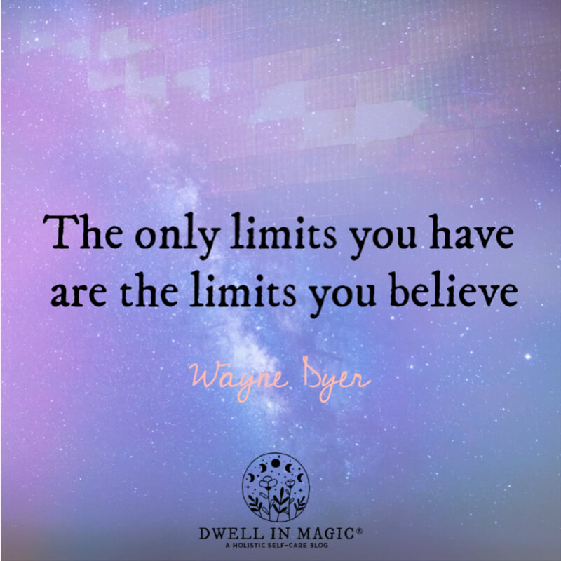 Limiting beliefs spiritual bypassing quote Wayne Dyer