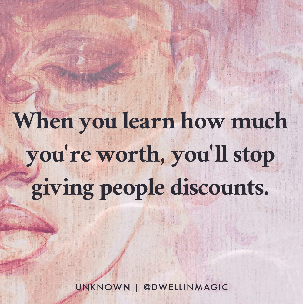 value yourself more quote