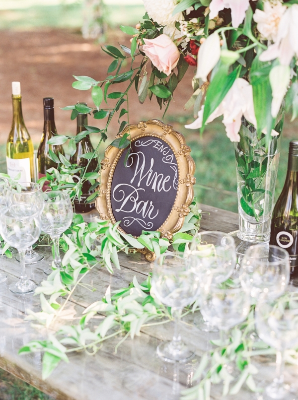Wine Bar Drink Station Ideas | 11 Tips to Personalize Your Wedding - Jessica Dum Wedding Coordination #weddingtips