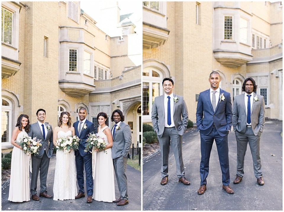Navy, ivory, + grey wedding   Navy and Gold Wedding at Laurel Hall with Ivan & Louise Photography + Jessica Dum Wedding Coordination