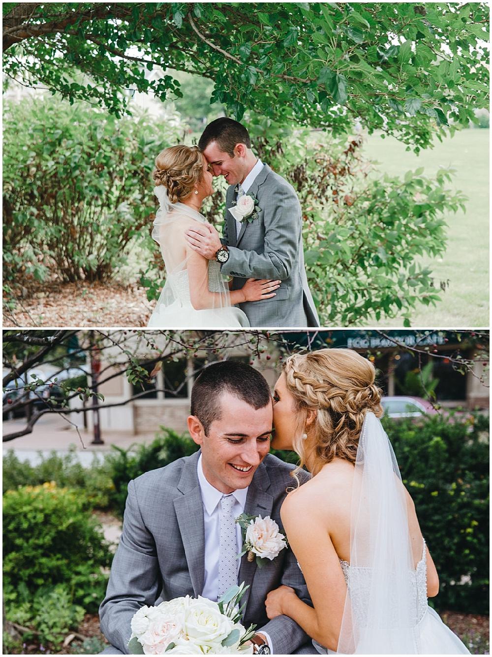 First look   Chicago urban rustic wedding  Sandra Armenteros Photography   Jessica Dum Wedding Coordination