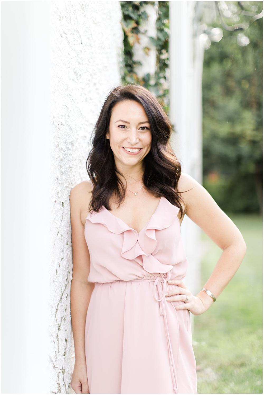 Lead Wedding Coordinator; Professional Wedding Coordinator Team Photos; Pink ruffle dress with soft curls | Ivan & Louise Images
