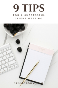 9 Tips for Successful Client Meetings with your Brides | wedding planner tips; successful client consultations; bridal consultations; client meetings; client consultations
