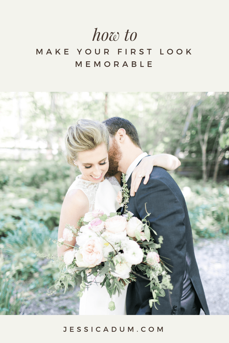 5 Tips for making your first look memorable - Making the most of alone time with your soon to be spouse on your wedding day.