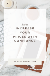 4 tips for increasing your price with confidence by evaluating your fees and charging your worth! Stop comparing yourself to your competition, and instead focus on differentiating yourself and understanding what makes you unique. The more you understand your strengths, the more confidence you will have in your business and in charging what you are really worth.