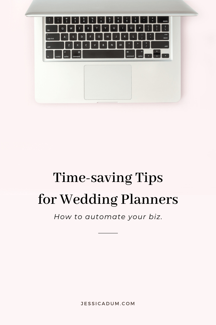 Wasting time on things that aren't moving the needle forward. With a little automation, improve your efficiency and productivity in your wedding planning business with these time-saving tips!