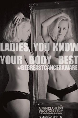 #BeBreastCancerAware