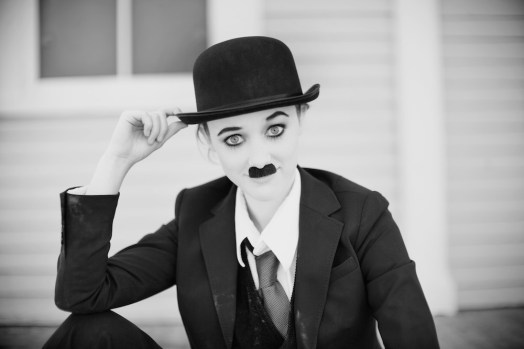 Screen Icons: Chaplin by Jessica Martin
