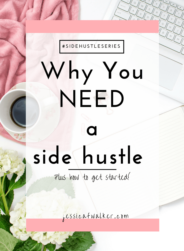 Why you need a side hustle, what is a side hustle, do I need a side hustle, how much can you make doing a side hustle, extra job, how to a side hustle, urban20something.com guest post, part time job search, want to quit my full time job, how to make money online side hustle, jessicafwalker.com, gratitude, empowerment, success