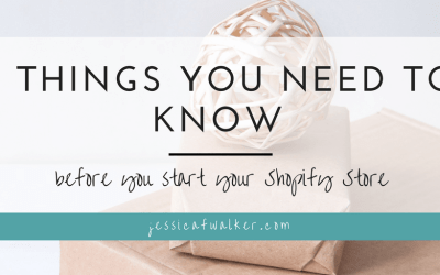 3 Things You Need to Know Before You Start a Shopify Store