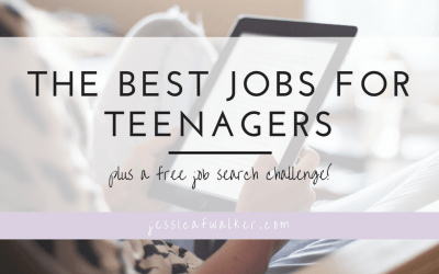 The Best Jobs for Teenagers