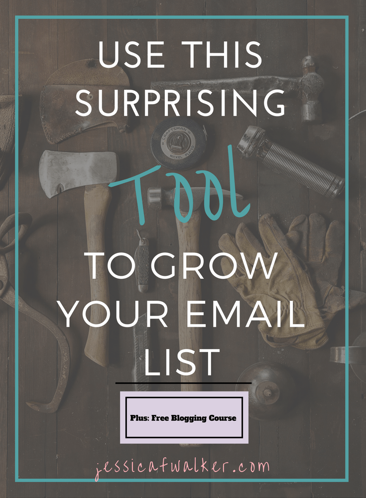 Use quizzes to grow email list, how to grow email list, get more subscribers, how to create a quiz, buzzfeed quiz, blog, jessicafwalker.com | gratitude | empowerment | success