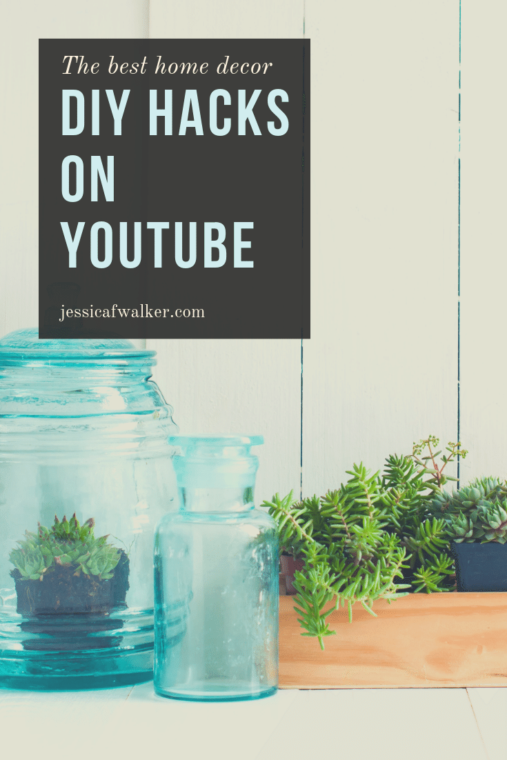 5 home decor DIY videos that are simple and beautiful by lone fox home