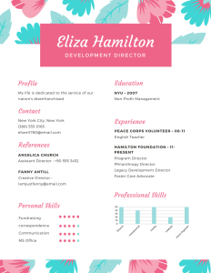Sample professional resume, example resume, affordable professional resume, professional resume maker, how much is a professionally made resume, jessicafwalker.com, millennial life skills coach, gratitude, empowerment, success