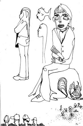 mushroomfishgaze sketch