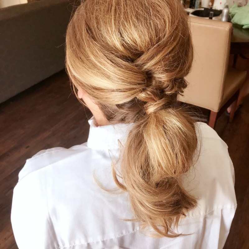 Casual Curled Pony