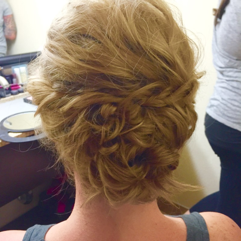 Braided Bridesmaid Bun