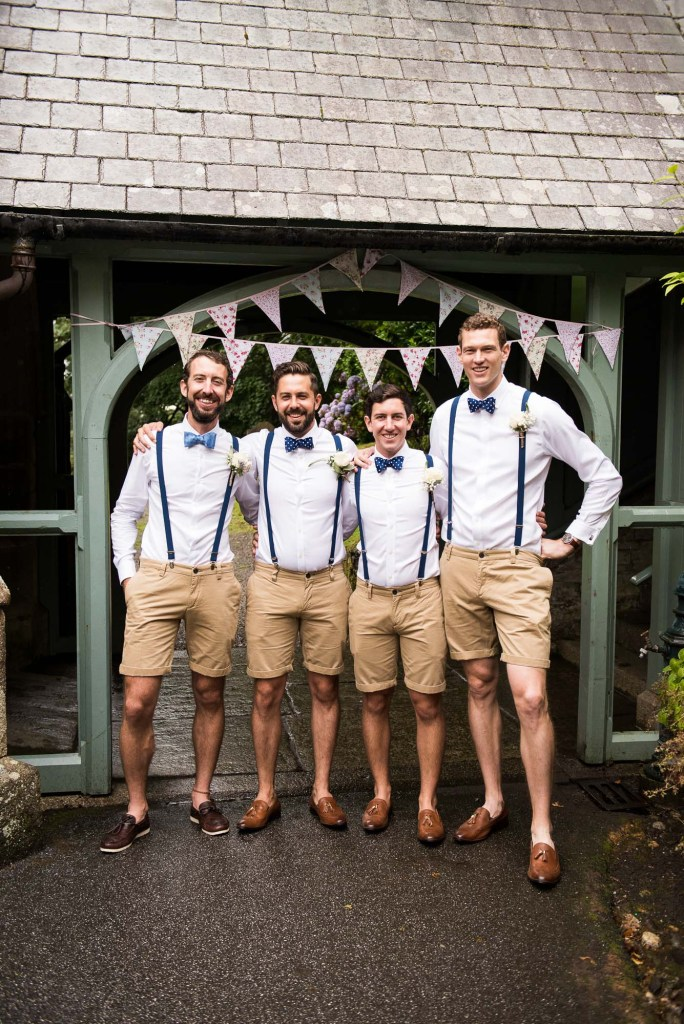 Groom with groomsmen pre wedding photography Driftwood Spars Wedding