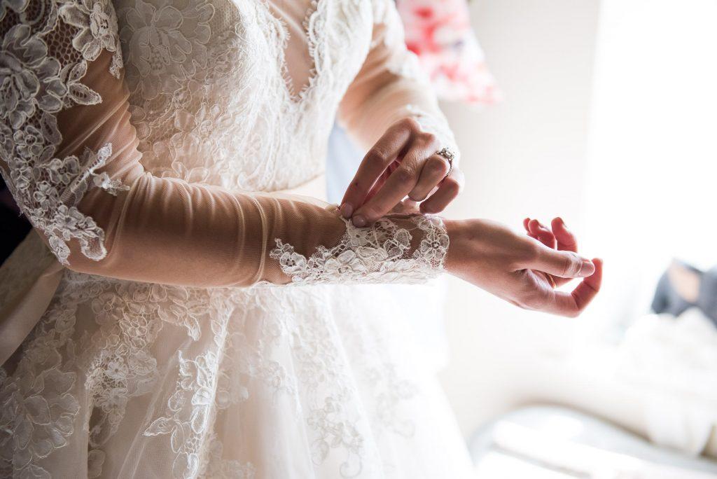 Elegant Jay West Bridal lace wedding dress pre wedding photography Norfolk