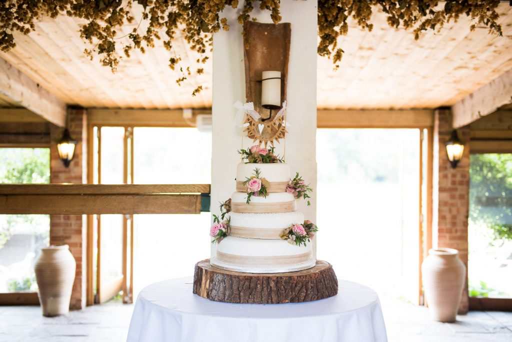 Alice Michieli wedding cake
