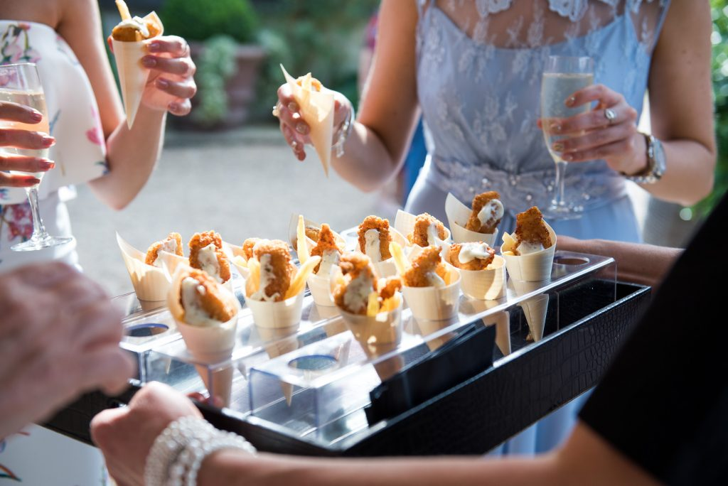Just Jane Catering fish and chip cones