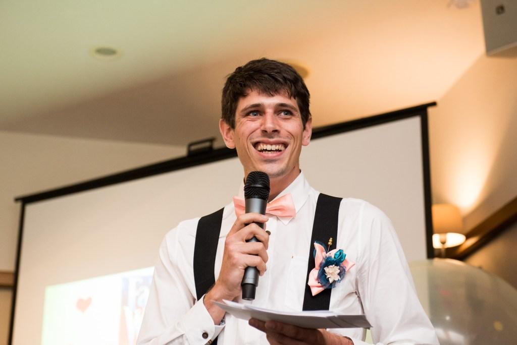 Best man speech Wilde Theatre Berkshire