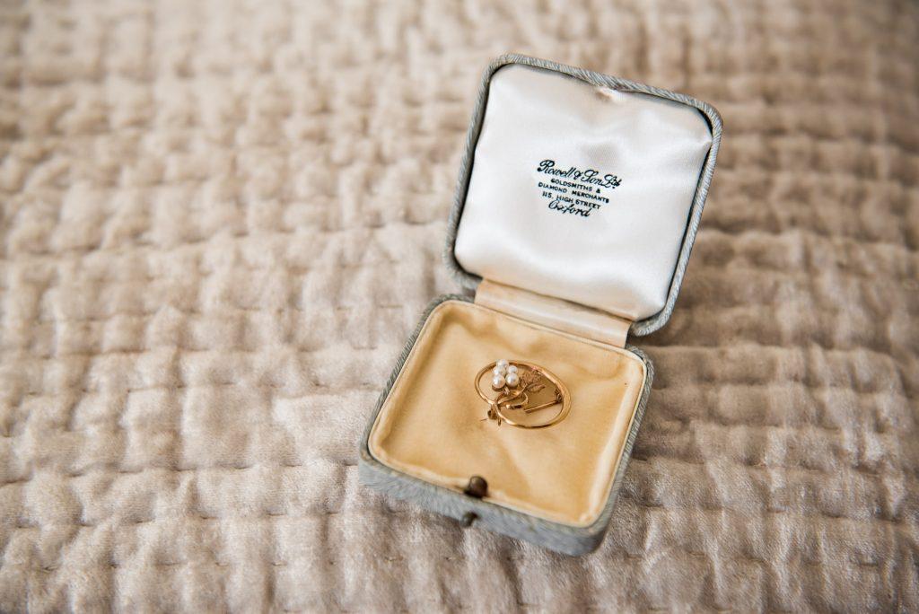 Heirloom jewellery bridal prep