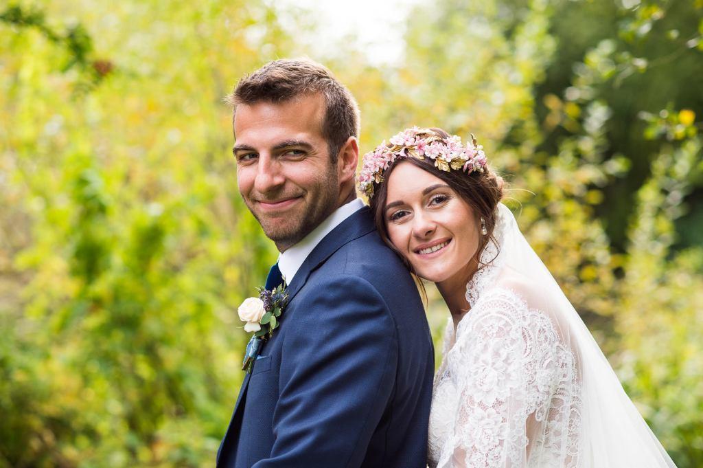 Natural wedding portrait photography Norfolk