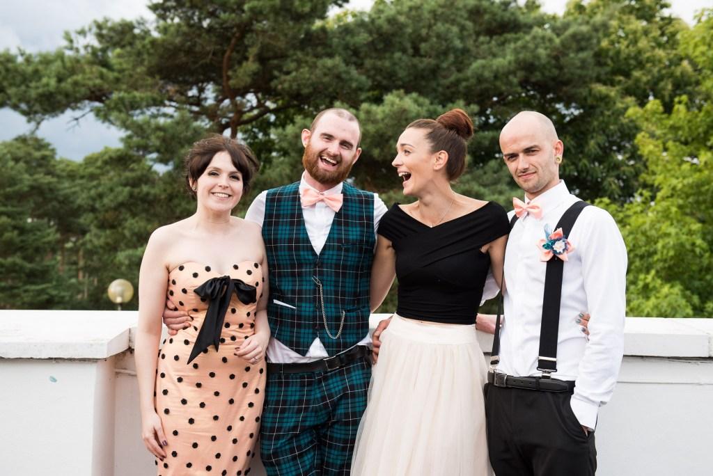 Alternative wedding Wilde Theatre Berkshire