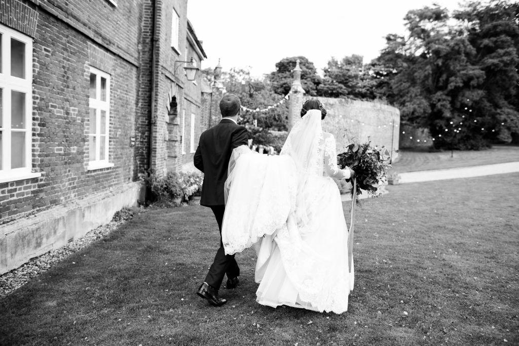Natural wedding portrait Norfolk